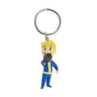 Officiel de Fallout Vault Boy énergie arme Keyring / Keychain