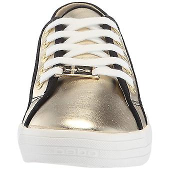 Bebe Womens Dane-N Low Top Lace Up Fashion Sneakers