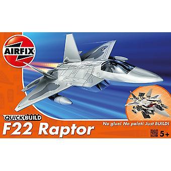 Airfix J6005 Quick Build R22 Raptor Aircraft Model Kit