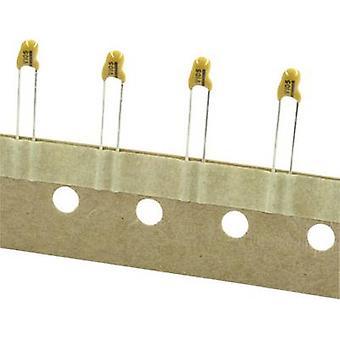 TANCAP CA42-105M035AA Tantalum capacitor THT 2.5 mm 1.1 µF 35 V 20 % (W x H) 4 mm x 14 mm 1 pc(s)