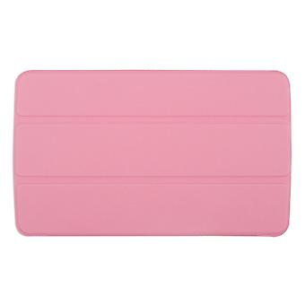 "Slim Compact PU Magnetic Leather Case Cover voor LG G Pad F 8""[Pink]"