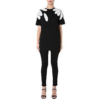 Boutique Moschino 048308001555 Women's Black Cotton T-shirt