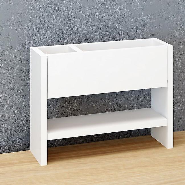 Mensola Ilay Colore Bianco in Truciolare Melaminico, L40xP12xA30 cm