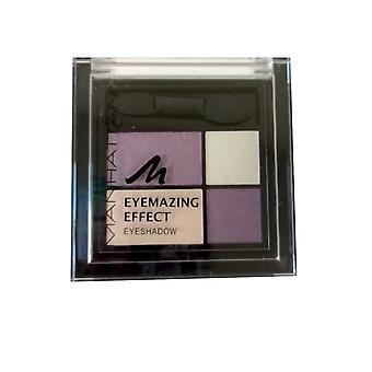 Manhattan Eyemazing Effect Eyshadow Quad Compact lang dragen Velvet Touch