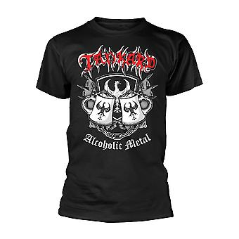 Tankard alcolico metallo ufficiale tee T-Shirt Mens Unisex