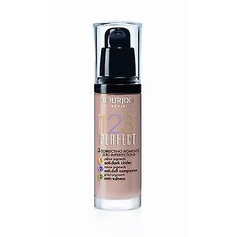 Bourjois 123 Perfect Foundation, Various Shades, 30ml, New & Sealed