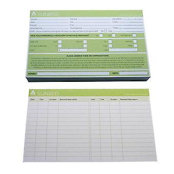 بطاقات سجل جدول الأعمال مُشمسة
