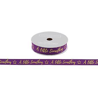 CGB regalos sauce y rosa un poco algo púrpura brillo cinta (5m)