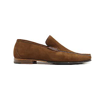 Loake Nicholson Polo Suede Leather Mens Moccasin Chaussures