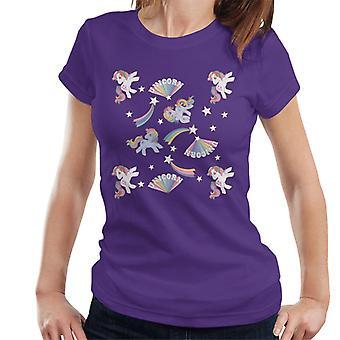 Mein kleines Pony Einhorn Muster Frauen's T-Shirt