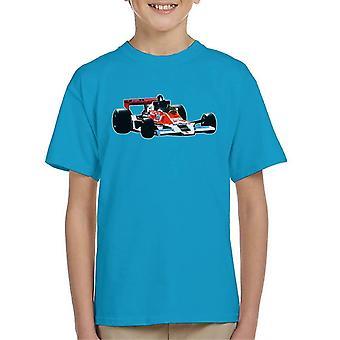 Motorsport Images James Hunt McLaren M26 1977 Kid's T-Shirt