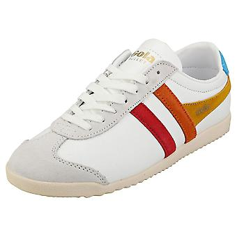 Gola Bullet Trident Womens Casual Trainers in White Multicolour