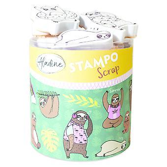Aladine Stampo Scrap Sloths