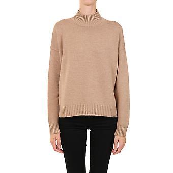 Ganni K1371177 Femme-apos;s Pull en laine beige