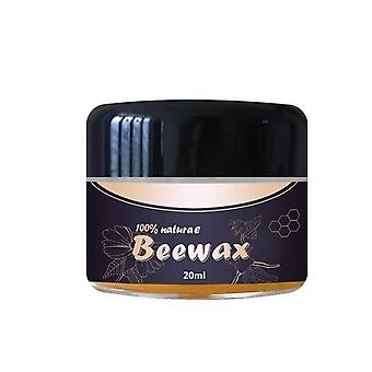 Natural Beeswax For Wood Maintenance Cleaning And Polishing - Waterproof And Resistant For Furniture Care