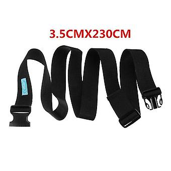 Nastavitelný bezpečnostní pás pro invalidní vozík - břišní pás o šířce 3,5 nebo 5 cm a délce