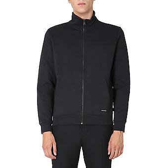 Woolrich Wosw0078mrut2471100 Men's Black Cotton Sweatshirt