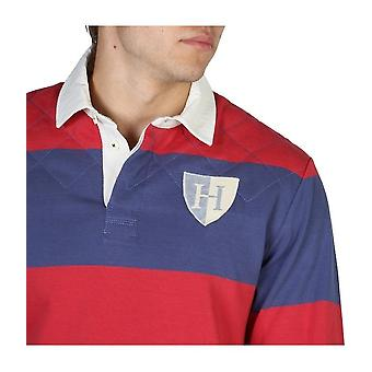 Hackett - Clothing - Polo - HM570737_5DC - Men - red,blue - S