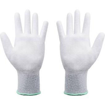 Quadrios ESD glove Size: S Polyamide, Polyurethane