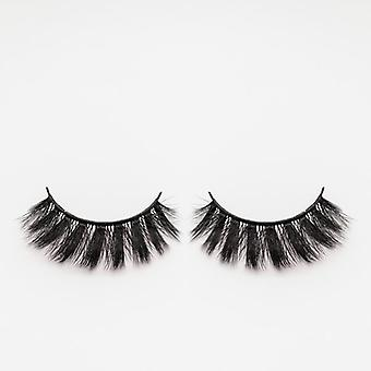 xoBeauty Faux Mink False Lashes - Exotic - Incredible 3D Design and Volume