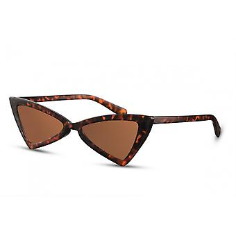 Sunglasses Women's Butterfly Multicolored/Brown (CWI2266)