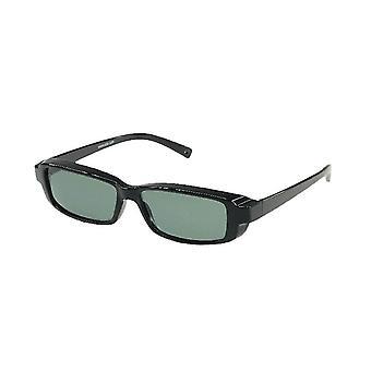 Zonnebril Unisex zwart met groene lens VZ0012A