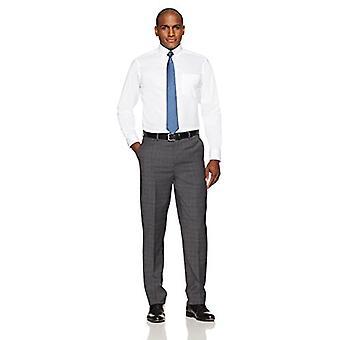 KNAPPET NED Men's Classic Fit Button-Collar Non-Iron Dress Shirt (Pocket), ...