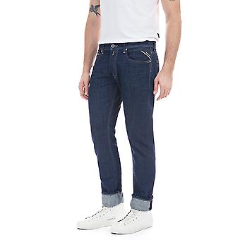 Replay Men's Grover Jeans Straight Fit