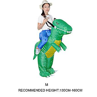 Inflatable Animal Dinosaur Halloween Party- Costume Three Dimensional Rideable Dinosaur Mount Dress