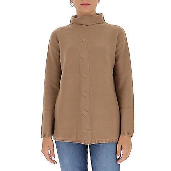 'S Max Mara 93660503600082003 Femmes-apos;s Beige Wool Sweater