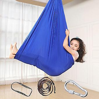 Kinderen Cotton Outdoor Indoor Swing hangmat voor knuffelen tot sensorische kindertherapie soft elastische pakket steady seat swing