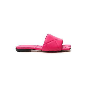Bottega Veneta 639940vbp305521 Sandalias de Cuero Rosa para Mujer y apos;s
