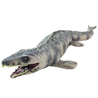 Dinosaur Toys, Mosasaur Toy, Simulation Plastic Soft Dinosaur Animal Model