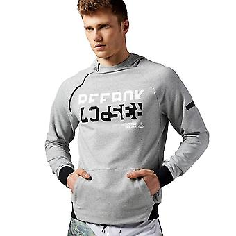 Reebok Workout Graphic Hoodie AY2231 universel toute l'année hommes sweat-shirts
