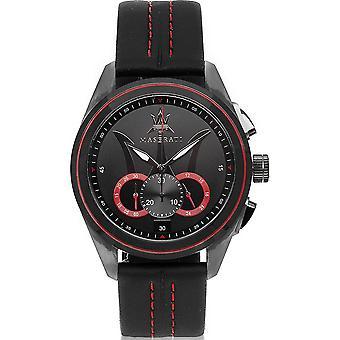 Maserati R8871612023 Traguardo Chronograph Musta Valinta Men's Watch