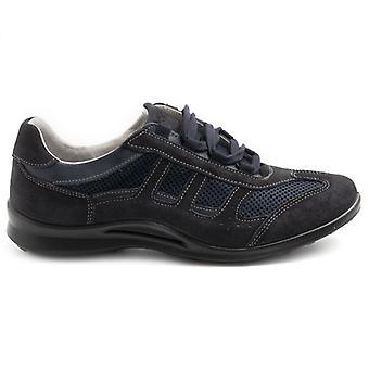Zapato Grisport para Hombre 8427 Azul Con Plantador Extraíble
