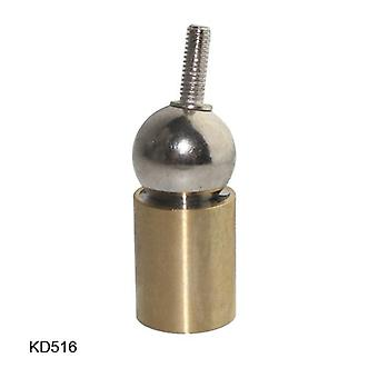 Kd516 Socket Connection For 3d Printer Steel Ball Brass Rod End With Thread