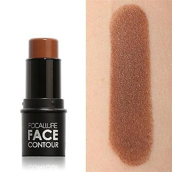 Face Highlighter & Bronzer Stick, Shimmer Powder Creamy Waterproof Concealer