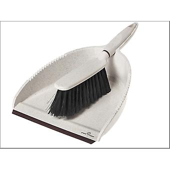 Greener Cleaner Greener Cleaner Dustpan & Brush Cream GCB008CREAM