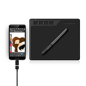 Digital graphic tablet for drawing & game osu level with battery free pen