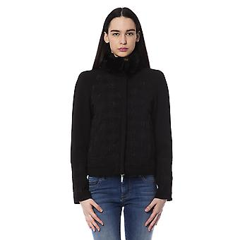 BYBLOS Black Short Down High Neck Jacket