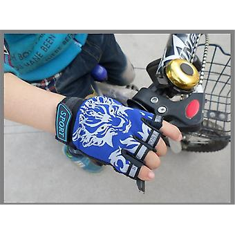 Breathable Half Finger Mountain Bicycle Gloves For Mittens
