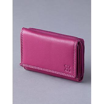 12,5 cm nahka käsilaukku karpalo vaaleanpunainen