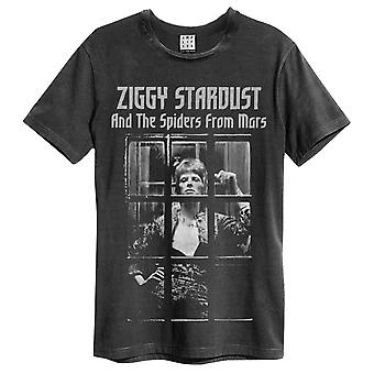Amplified David Bowie Ziggy Stardust Spiders From Mars T-Shirt