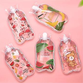 Hot Water Bottle Warm Belly Treasure Cartoon Hand Warmer Umplut Mini