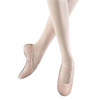 Bloch Dance Girl's Belle Full-Sole Leather Ballet, Pink,  Size Little Kid 10.5