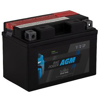 intAct YTX12A-BS Maintenance Free AGM Bike-Power Battery