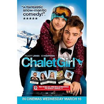 Chalet Girl elokuvajuliste (11 x 17)