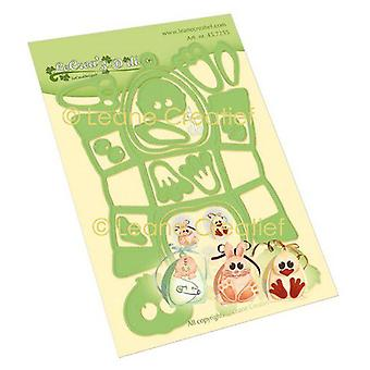 Lecrea - Leabilitie Box Party Young Life Cut And Embossing Die 45.7255