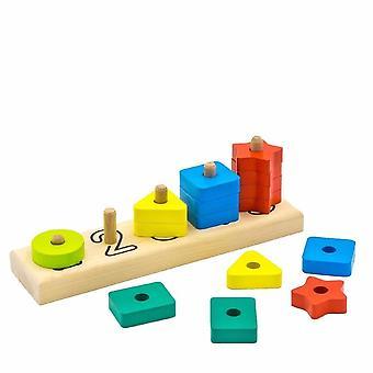 "Alatoys Wooden  Pyramid ""Abacus"""